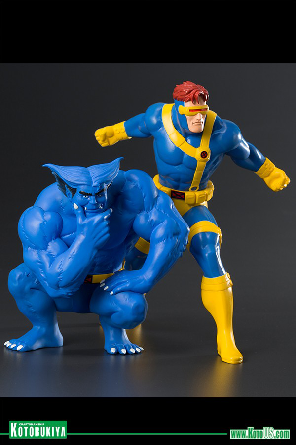 Marvel Universe: CYCLOPS & BEAST TWO PACK (ARTFX+ Statue)