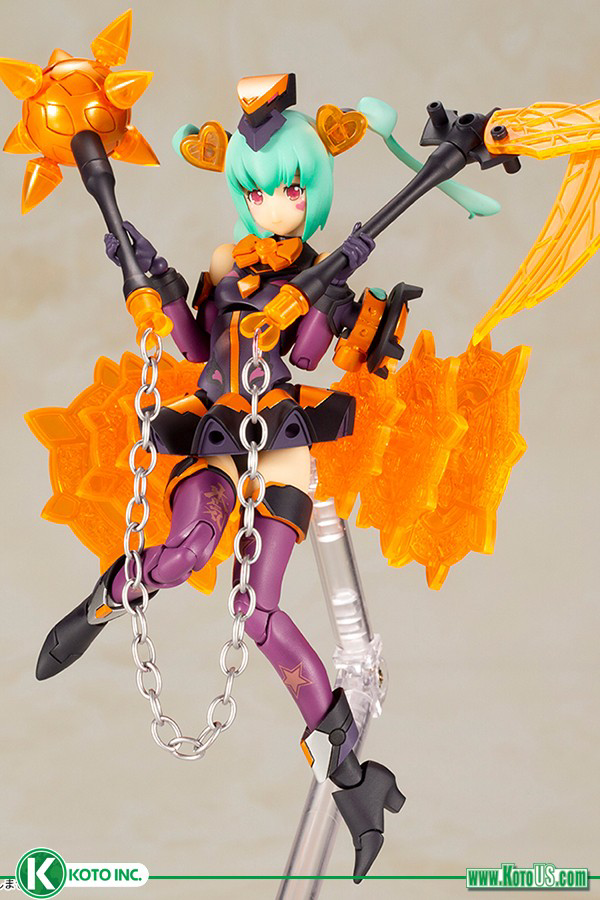 Megami Device: Chaos & Pretty Magical Girl DARKNESS MODEL KIT