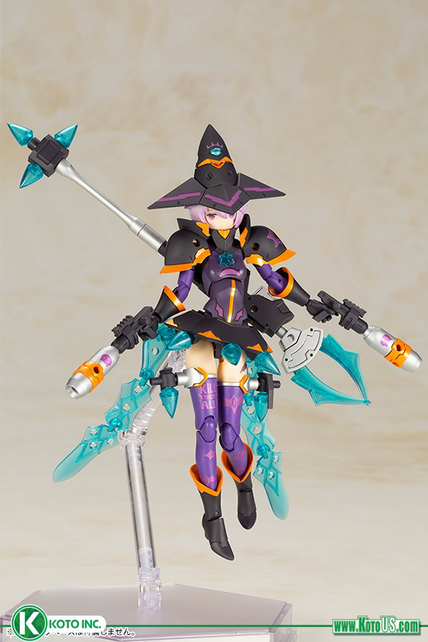 Megami Device: Chaos & Pretty Witch DARKNESS MODEL KIT