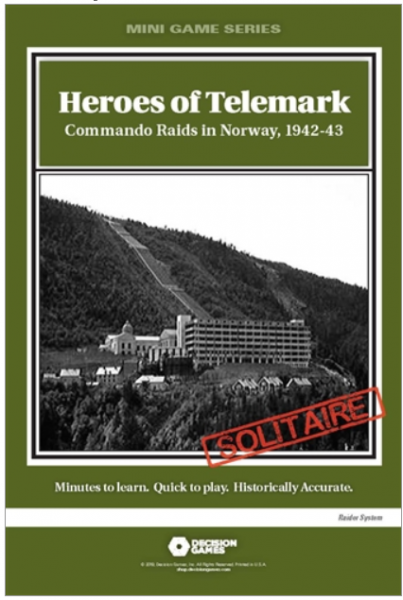 Mini Game Series: Heroes of Telemark - Commando Raids in Norway, 1942-43