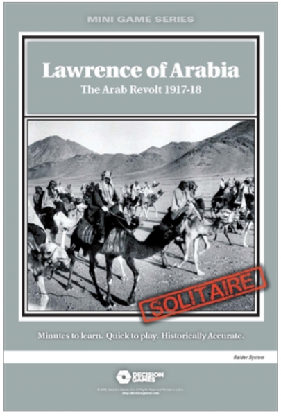 Mini Game Series: Lawrence of Arabia - The Arab Revolt 1917-18