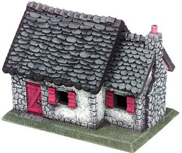 Miniature Building Authority: 28mm Eurovillage: Country Cottage