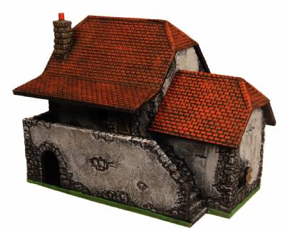 Miniature Building Authority: 28mm Eurovillage: French Farmhouse