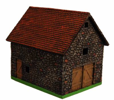 Miniature Building Authority: 28mm Eurovillage: Stone Barn