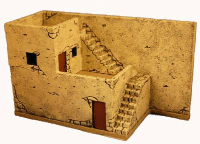 Miniature Building Authority: 28mm Middle Eastern: Ahmeds House