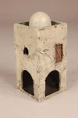 Miniature Building Authority: 28mm Middle Eastern: Arcade Corner Tower