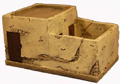 Miniature Building Authority: 28mm Middle Eastern: Building with courtyard