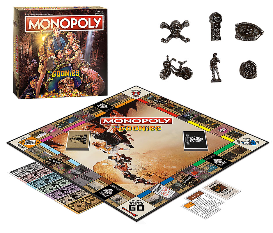 Monopoly: The Goonies [DAMAGED]