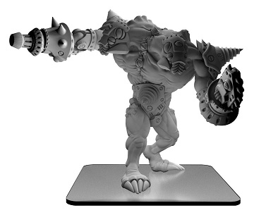 Monsterpocalypse Destroyers: Blastikutter Subterran Monster