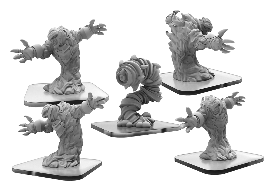 Monsterpocalypse Protectors: Elemental Champions: Fire Kami/ Air Avatar