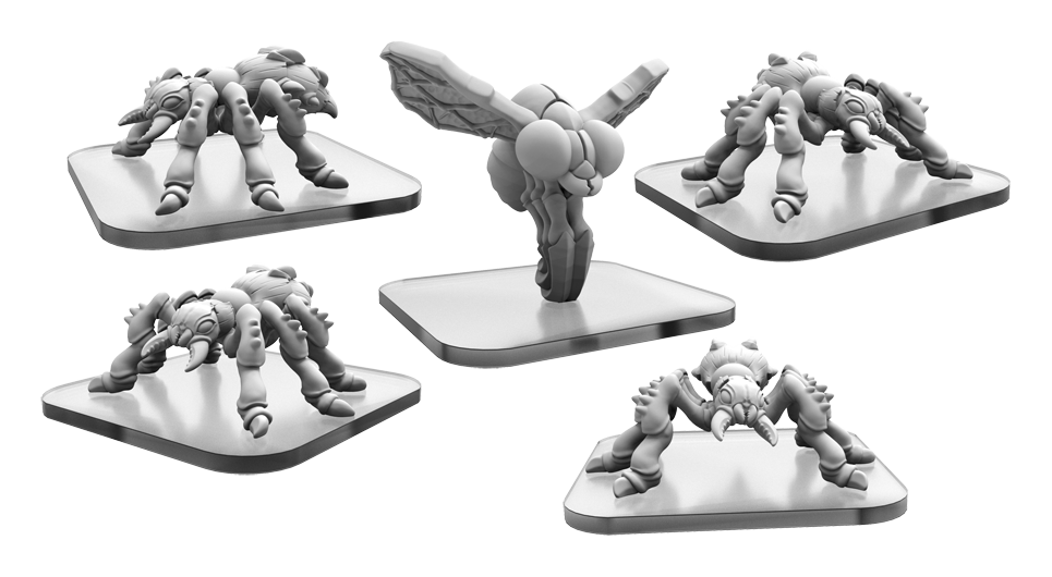 Monsterpocalypse Destroyers: Savage Swarm: Dire Ants/ Spy Fly
