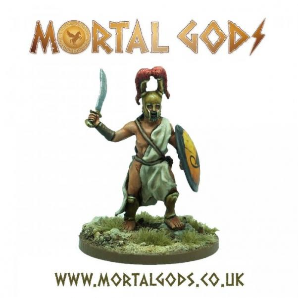 Mortal Gods: Medium Lochagos 1