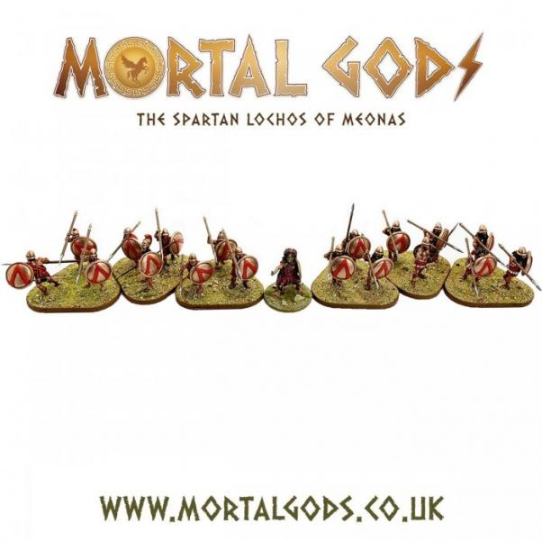 Mortal Gods: Spartan Lochos Expansion Box Set