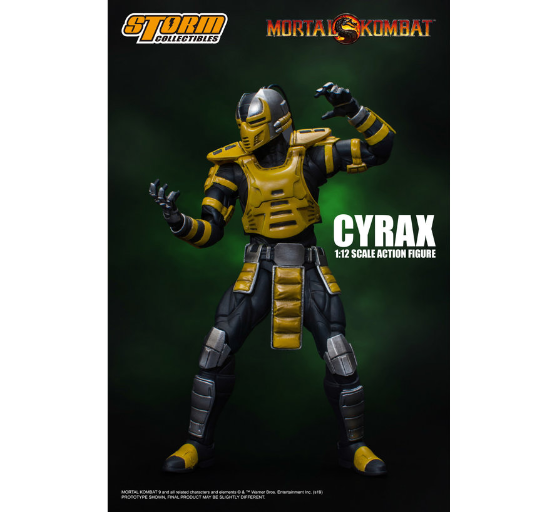 Mortal Kombat: Cyrax (Storm Collectibles 1:12 Action Figure)
