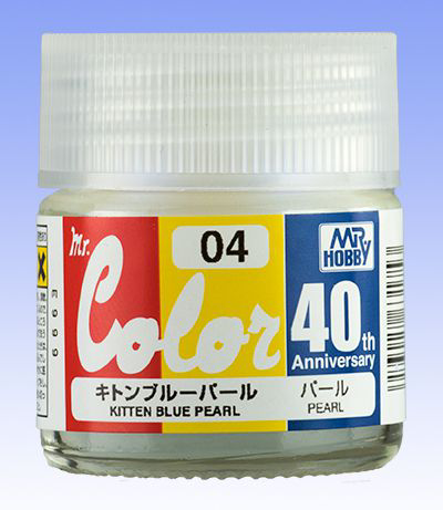 Mr. Color 40th Anniversary: AVC04 Kitten Blue Pearl (Pearl)