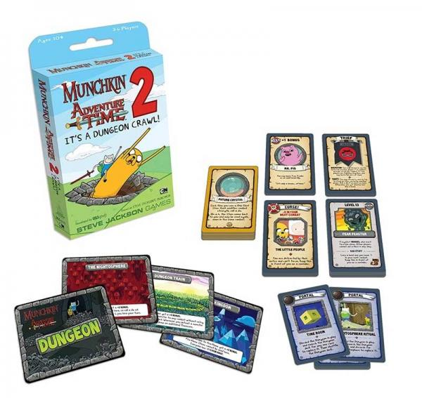 Munchkin: Adventure Time 2- Its a Dungeon Crawl!