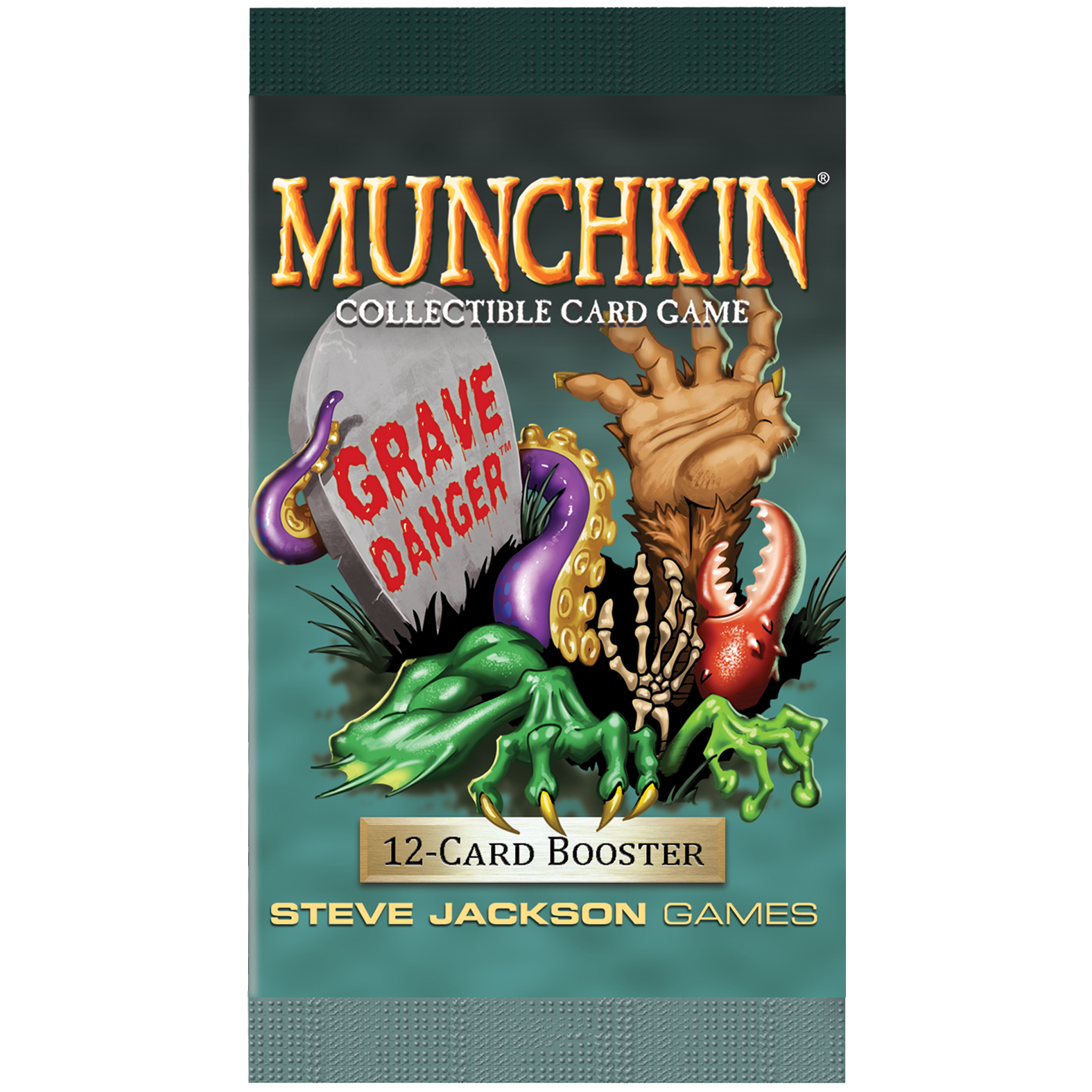 Munchkin CCG: Grave Danger Booster Pack (SALE)