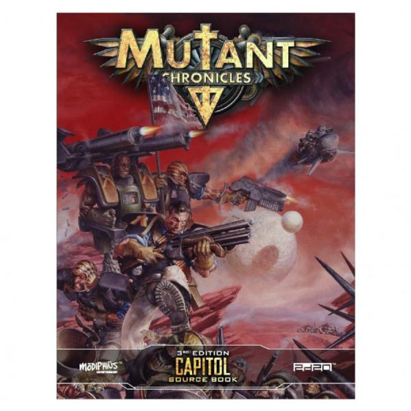 Mutant Chronicles: Capitol Source Book