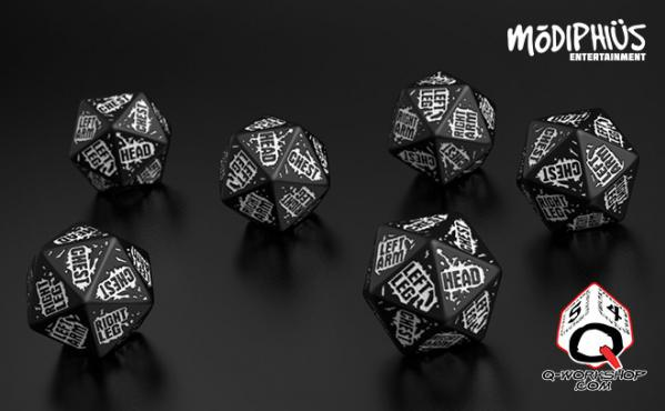 Mutant Chronicles: Players Dice Set
