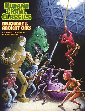 Mutant Crawl Classics #7: RELIQUARY OF THE ANCIENTS