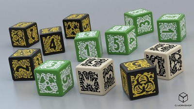 Mutant Year Zero: Dice Set (New Design)