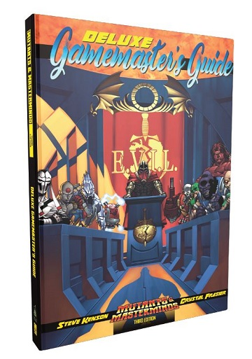 Mutants and Masterminds: Deluxe GM Guide (HC)