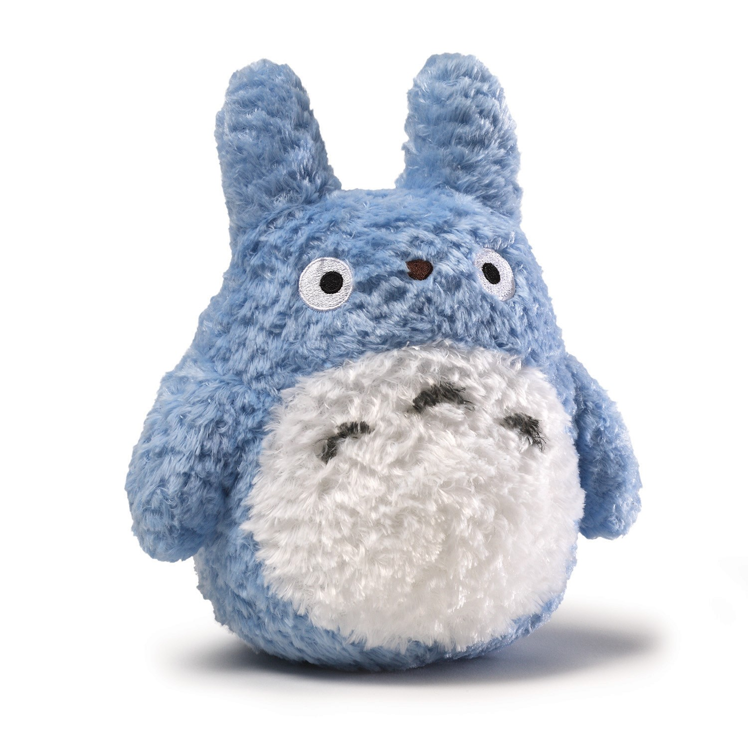 "My Neighbor Totoro: 8"" Blue Fluffy Medium Totoro Plush"