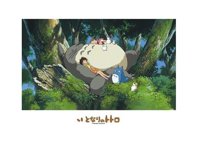 My Neighbor Totoro: Napping with Totoro (Puzzle)
