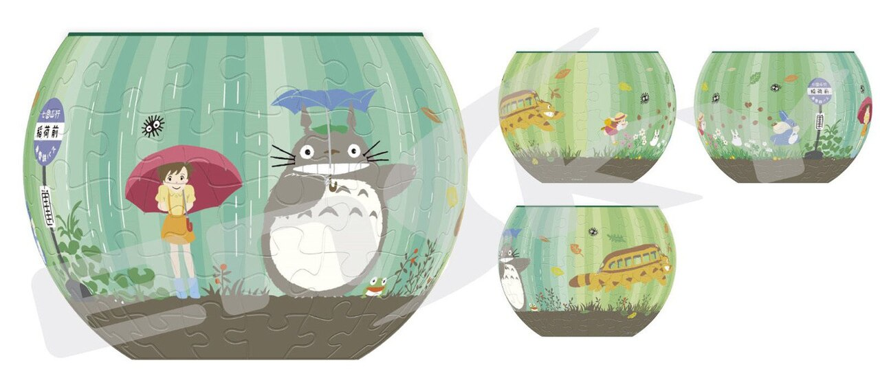 My Neighbor Totoro: The World Goes Around Puzzle Bowl