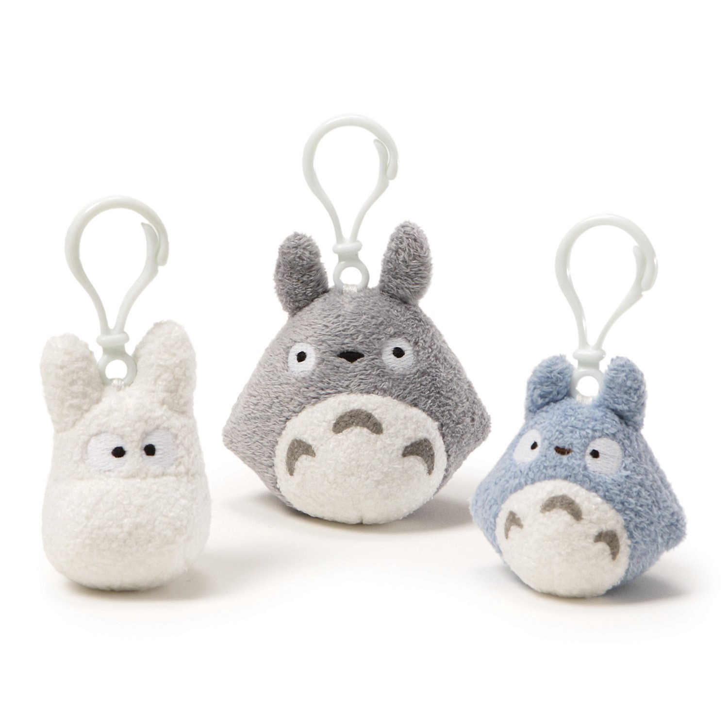 My Neighbor Totoro: Totoro Backpack Clip -White