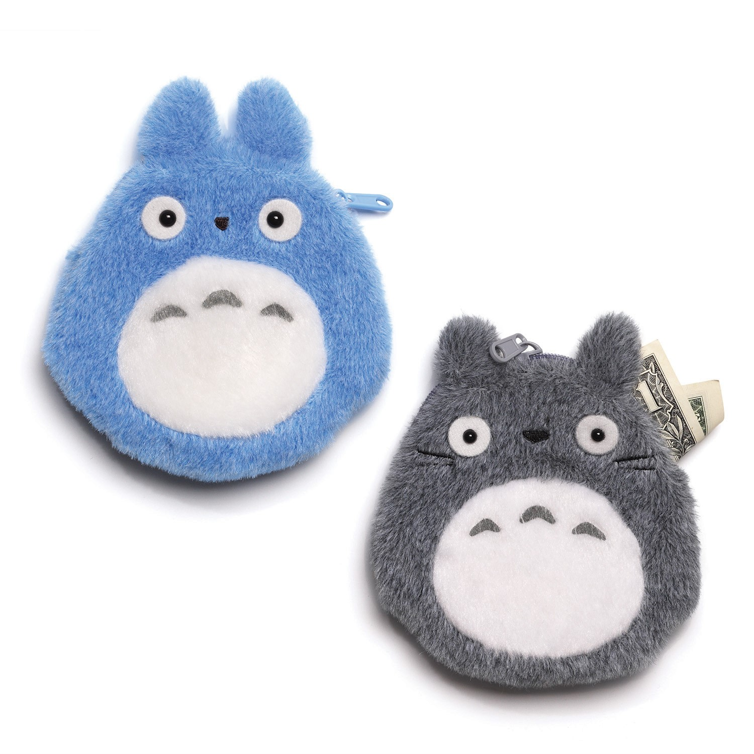 My Neighbor Totoro: Totoro Plush Coin Purse- Blue
