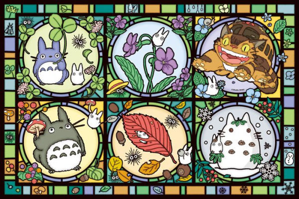 My Neighbor Totoro: Totoro Seasons Tidings (Large Artcrystal Puzzle)