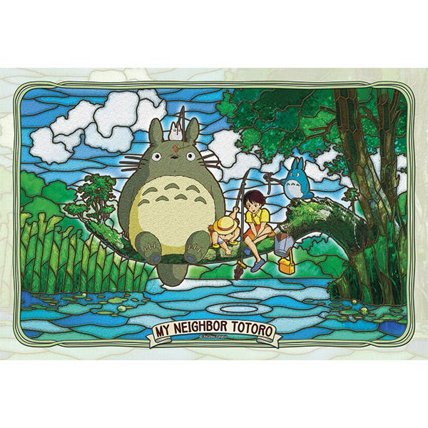 My Neighbor Totoro: Totoro and Friends Fishing ( Large Artcrystal Puzzle)