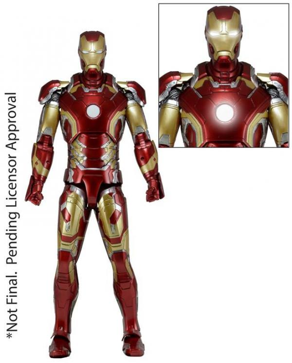 Neca: 1/4 Avengers Age Of Ultron: Iron Man Mark 43