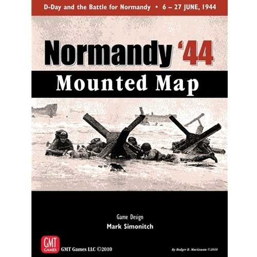 Normandy 44: Mounted Map
