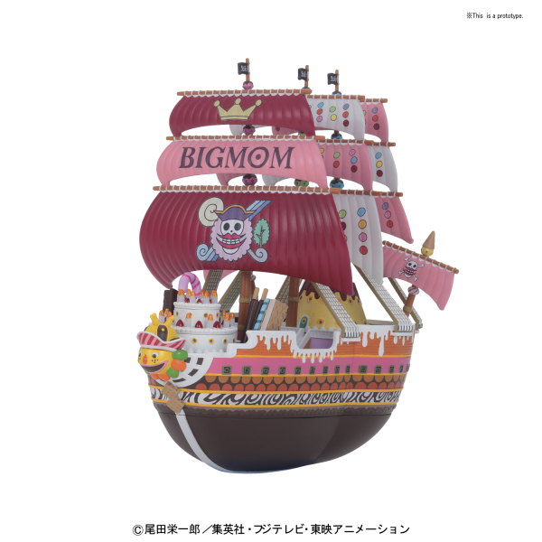 One Piece: Grand Ship Collection - Big Moms Pirate Ship