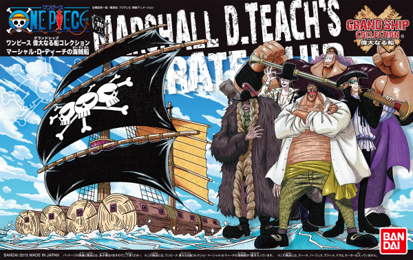 One Piece Grand Ship Collection: Marshall D Teachs Ship