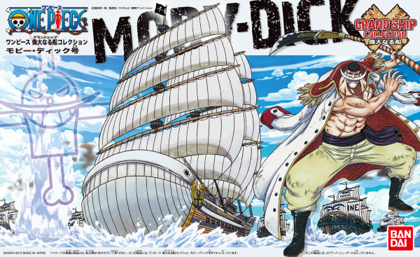 One Piece Grand Ship Collection: Moby Dick