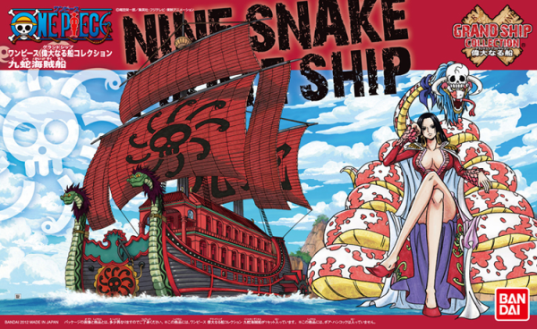 One Piece Grand Ship Collection: Nine Snake Pirate Ship