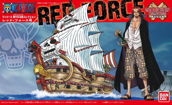 One Piece Grand Ship Collection: Red Force