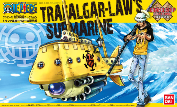 One Piece Grand Ship Collection: Trafalgar Laws Submarine