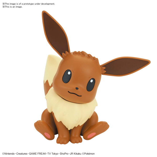 POKEMON: Model Kit Quick!! 04 Eevee