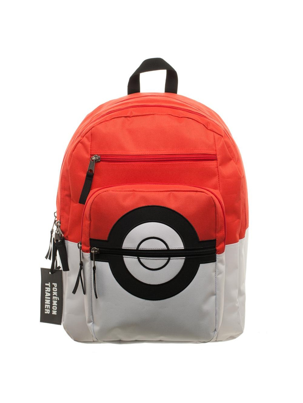 POKEMON - POKEBALL BACKPACK WITH TRAINER BAG CHARM