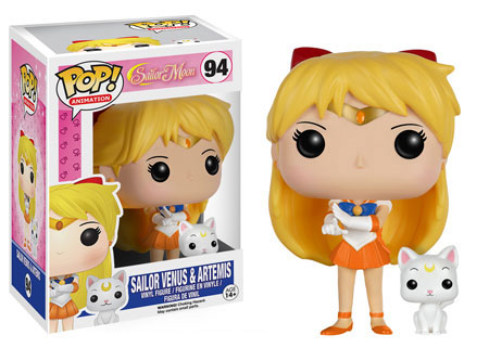 POP! Animation 094: Sailor Moon- Sailor Venus & Artemis