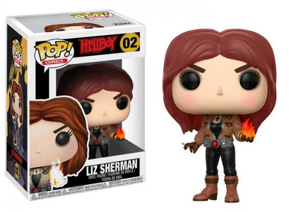 POP! Comics 002: Hellboy- Liz Sherman [Damaged]