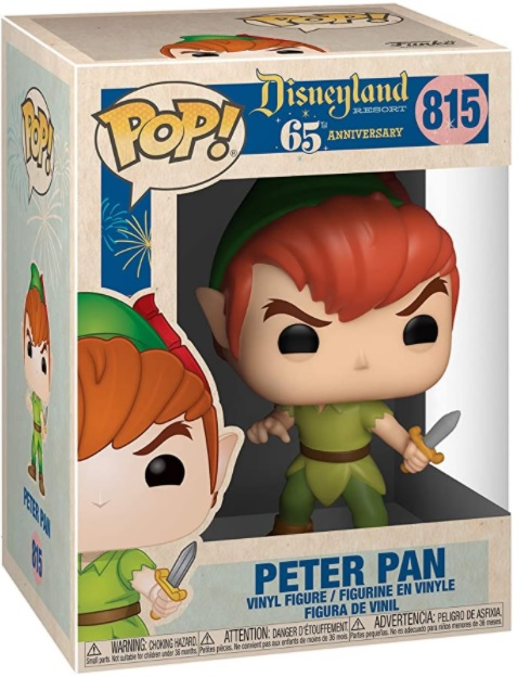 POP! Disneyland 65th Anniversary 815: PETER PAN (NEW POSE)