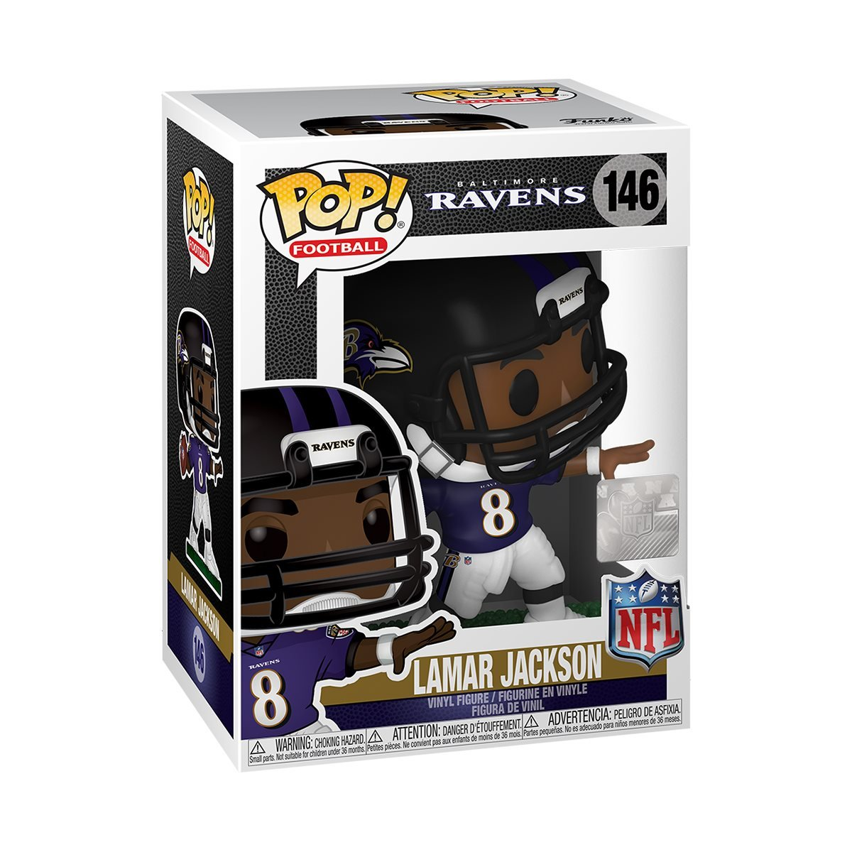 POP! Football 146: Ravens- Lamar Jackson