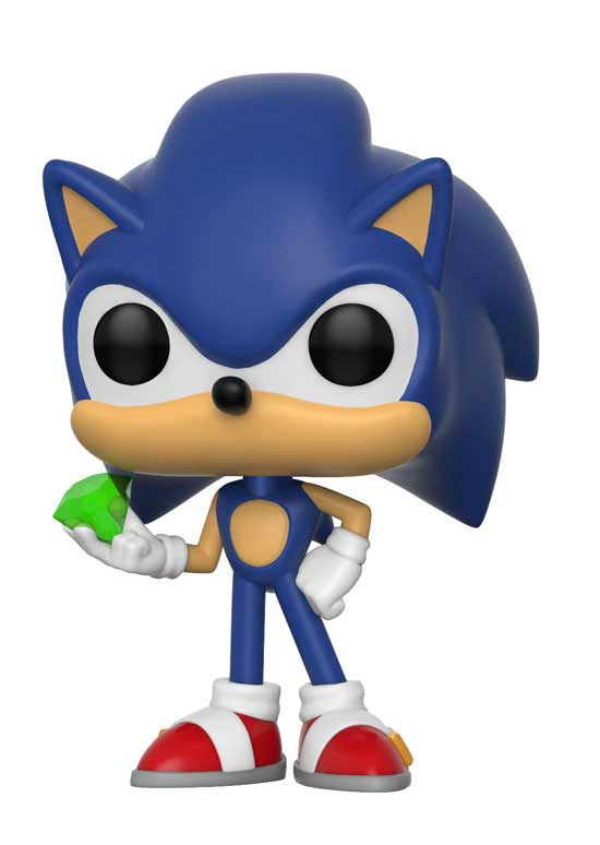 POP! Games 284: Sonic the Hedgehog- Sonic with Emerald