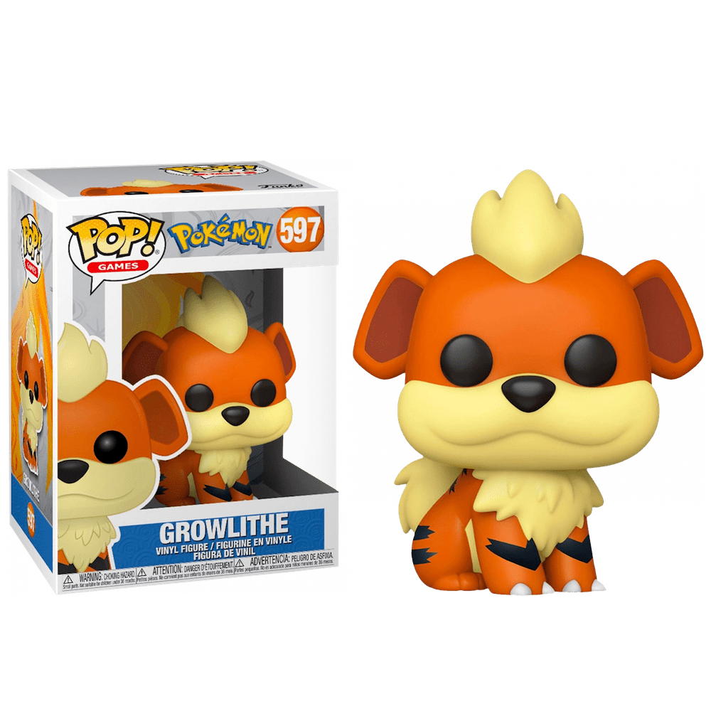 POP! Games 597: Pokemon: Growlithe