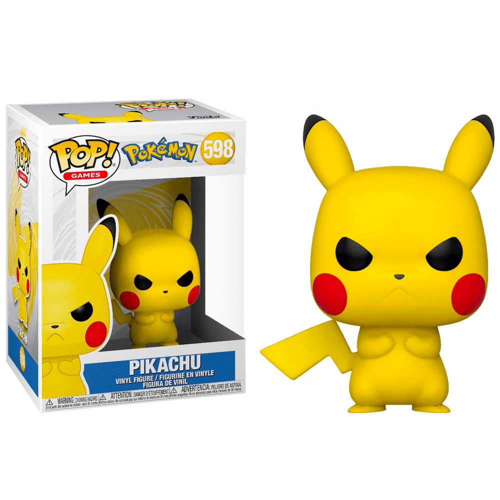POP! Games 598: Pokemon: Grumpy Pikachu